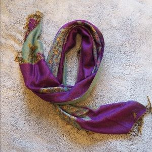 Accessories - Peacock Scarf